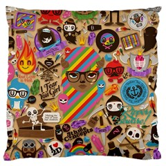 Background Images Colorful Bright Standard Flano Cushion Case (one Side)