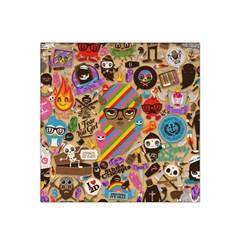 Background Images Colorful Bright Satin Bandana Scarf