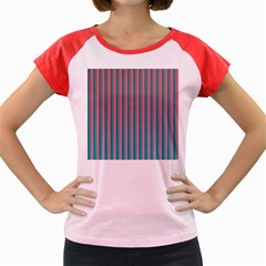 Hald Simulate Tritanope Color Vision With Color Lookup Tables Women s Cap Sleeve T Shirt