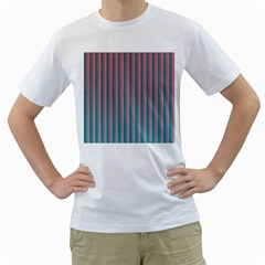 Hald Simulate Tritanope Color Vision With Color Lookup Tables Men s T Shirt (white) (two Sided)
