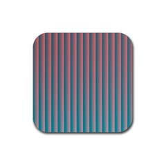 Hald Simulate Tritanope Color Vision With Color Lookup Tables Rubber Coaster (square)