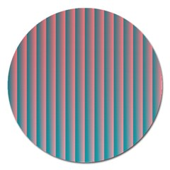 Hald Simulate Tritanope Color Vision With Color Lookup Tables Magnet 5  (Round)