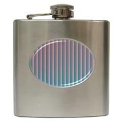 Hald Simulate Tritanope Color Vision With Color Lookup Tables Hip Flask (6 oz)