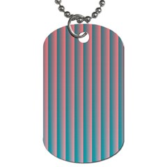 Hald Simulate Tritanope Color Vision With Color Lookup Tables Dog Tag (two Sides)