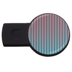 Hald Simulate Tritanope Color Vision With Color Lookup Tables USB Flash Drive Round (2 GB)
