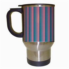 Hald Simulate Tritanope Color Vision With Color Lookup Tables Travel Mugs (white)