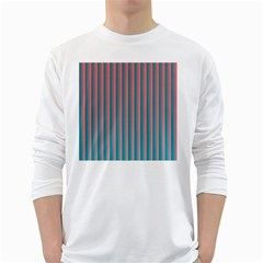 Hald Simulate Tritanope Color Vision With Color Lookup Tables White Long Sleeve T-Shirts