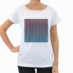 Hald Simulate Tritanope Color Vision With Color Lookup Tables Women s Loose-Fit T-Shirt (White)