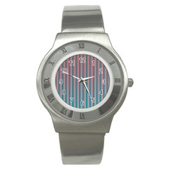 Hald Simulate Tritanope Color Vision With Color Lookup Tables Stainless Steel Watch