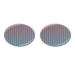 Hald Simulate Tritanope Color Vision With Color Lookup Tables Cufflinks (oval)