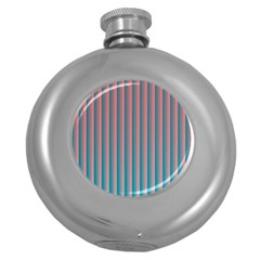 Hald Simulate Tritanope Color Vision With Color Lookup Tables Round Hip Flask (5 oz)