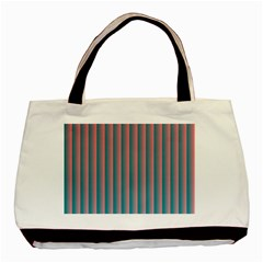 Hald Simulate Tritanope Color Vision With Color Lookup Tables Basic Tote Bag (Two Sides)