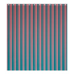Hald Simulate Tritanope Color Vision With Color Lookup Tables Shower Curtain 66  X 72  (large)