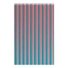 Hald Simulate Tritanope Color Vision With Color Lookup Tables Shower Curtain 48  x 72  (Small)