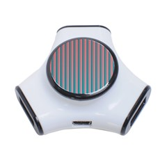 Hald Simulate Tritanope Color Vision With Color Lookup Tables 3-Port USB Hub