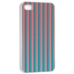 Hald Simulate Tritanope Color Vision With Color Lookup Tables Apple iPhone 4/4s Seamless Case (White)