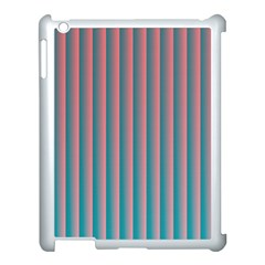 Hald Simulate Tritanope Color Vision With Color Lookup Tables Apple iPad 3/4 Case (White)