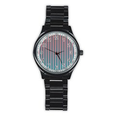 Hald Simulate Tritanope Color Vision With Color Lookup Tables Stainless Steel Round Watch