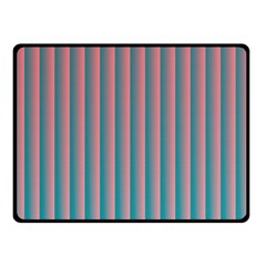 Hald Simulate Tritanope Color Vision With Color Lookup Tables Double Sided Fleece Blanket (Small)