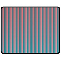Hald Simulate Tritanope Color Vision With Color Lookup Tables Double Sided Fleece Blanket (Medium)