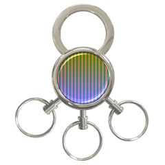 Hald Identity 3 Ring Key Chains