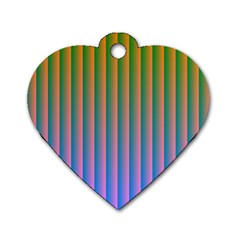 Hald Identity Dog Tag Heart (One Side)