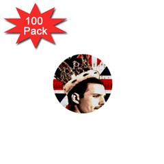 Freddie Mercury 1  Mini Buttons (100 pack)