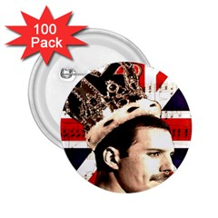 Freddie Mercury 2.25  Buttons (100 pack)