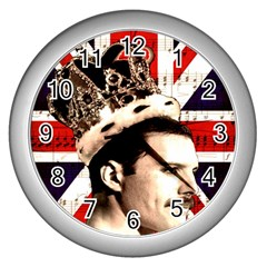 Freddie Mercury Wall Clocks (Silver)