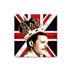 Freddie Mercury Square Magnet