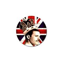 Freddie Mercury Golf Ball Marker