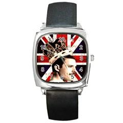 Freddie Mercury Square Metal Watch