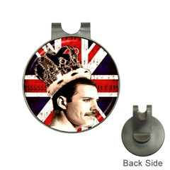 Freddie Mercury Hat Clips with Golf Markers