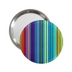 Color Stripes 2.25  Handbag Mirrors