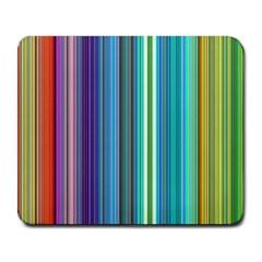 Color Stripes Large Mousepads