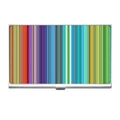 Color Stripes Business Card Holders