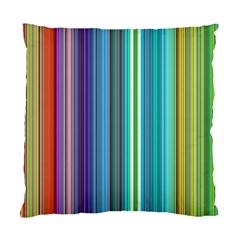 Color Stripes Standard Cushion Case (one Side)