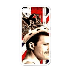 Freddie Mercury Apple iPhone 4 Case (White)