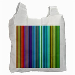Color Stripes Recycle Bag (two Side)