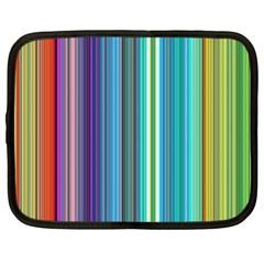 Color Stripes Netbook Case (xxl)