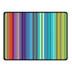 Color Stripes Fleece Blanket (Small)