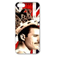 Freddie Mercury Apple Seamless iPhone 5 Case (Clear)