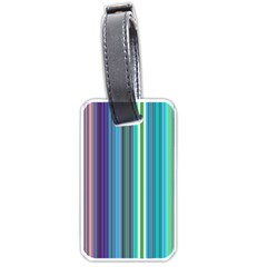 Color Stripes Luggage Tags (Two Sides)