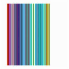 Color Stripes Small Garden Flag (two Sides)