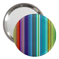 Color Stripes 3  Handbag Mirrors