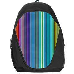 Color Stripes Backpack Bag