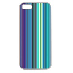 Color Stripes Apple Seamless iPhone 5 Case (Clear)