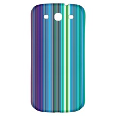 Color Stripes Samsung Galaxy S3 S III Classic Hardshell Back Case