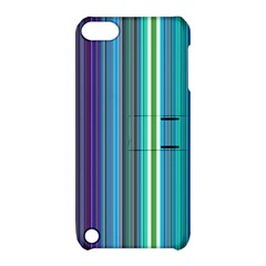 Color Stripes Apple iPod Touch 5 Hardshell Case with Stand