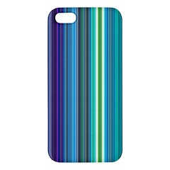 Color Stripes Apple iPhone 5 Premium Hardshell Case